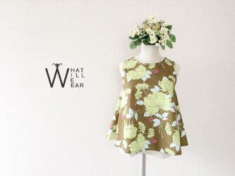 FLORAL FLARE TOPの画像