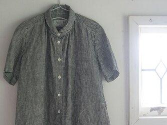 ミニギンガムシャツの画像