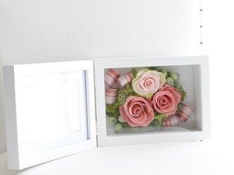 フォトフレーム (Lサイズ横タイプ)ピンクの画像
