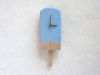 アイスキャンディー振子時計(ソーダ)の画像