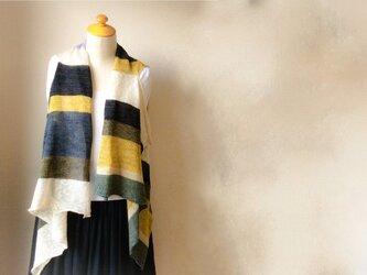 再販☆コットンとリネンの機械編みジレ Autumnの画像