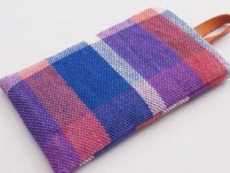リネン手織り スマホケースの画像