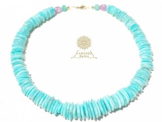 Amazonite*Necklaceの画像