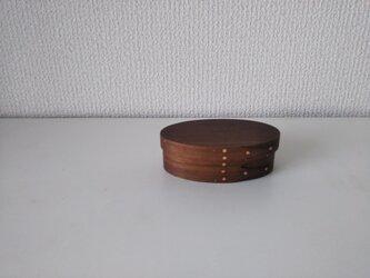 Shaker Oval Box #0 - ブラックウォルナットの画像
