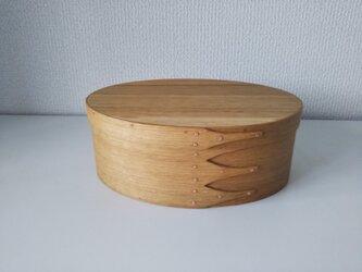 Shaker Oval Box #3 - 楢の画像