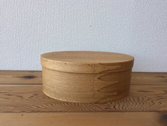 Shaker Oval Box #4 - 楢の画像