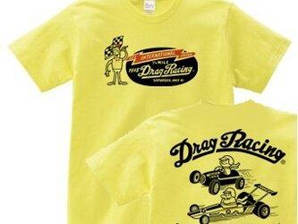 ドラッグ•レース 両面   150.160.(女性M.L) S~XL  Tシャツ【受注生産品】の画像