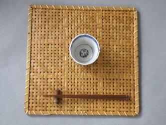 編み折敷の画像