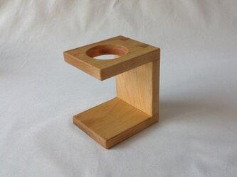 山桜の木製ドリッパースタンド(小)の画像