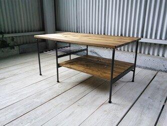 【展示作品】リビングソファローテーブル(Choichoi様仕様)の画像