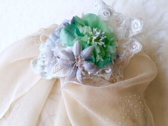 Flower hairclip&corsageの画像