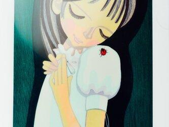 池田修三 てんとう虫クリアフォルダ2枚セットの画像