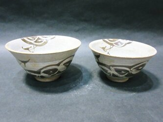 絵唐津夫婦飯碗の画像
