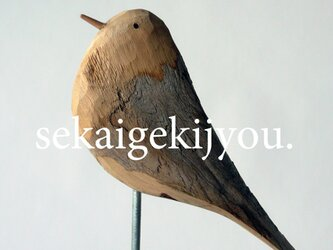 bird 〜 流木の小鳥の画像