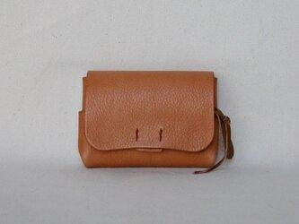財布 小 茶の画像