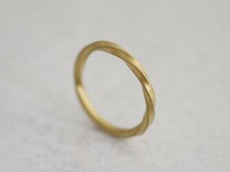 K18 Zephyr ring lady'sの画像