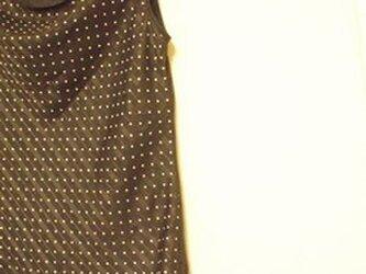 フレンチスリーブプルオーバー(polkadots×flower)の画像