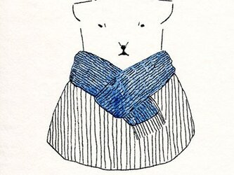 冬のポストカードセットの画像