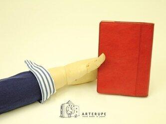 A6Size・ノートブックカバー/Dottore・レッドの画像