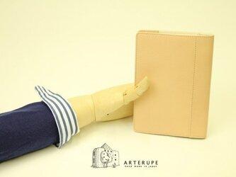 A6Size・ノートブックカバー/Dottoreエクリュベージュの画像