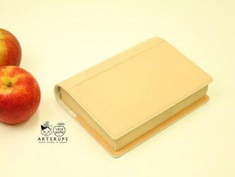 文庫本Size・ブックカバー/Dottore・エクリュベージュの画像