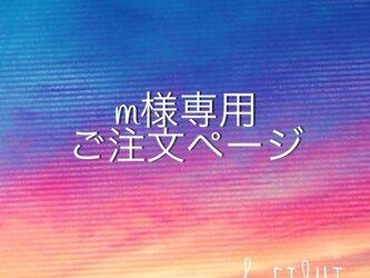 【m様専用】ご注文ページの画像