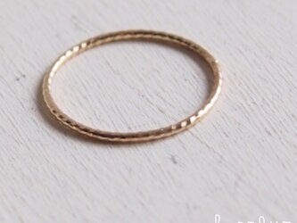 【受注制作】 K10 Twisted Ringの画像