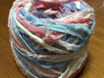 裂き布糸NO.2【あじさい】の画像