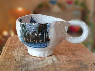 ロボットマグカップの画像