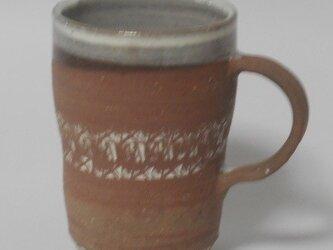 印花焼き締めカップの画像