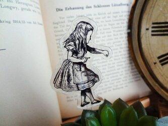 鍵を持つアリスのガーデンピックの画像