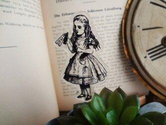 瓶を持つアリスのガーデンピックの画像