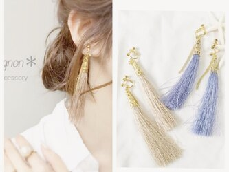 fringe tassel *ear accessory*の画像