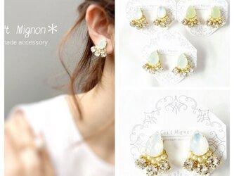 teardrop swaro*ear accessory*の画像