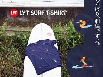 SURF 5 刺繍 V Tシャツの画像