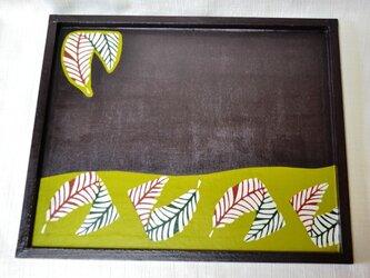 和紙のお盆の画像