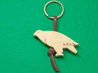 イヌワシ / 鷲 木のキーリングの画像