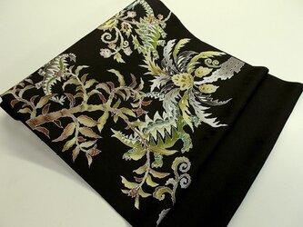 名古屋帯&袋帯(古代植物と恐竜家族)の画像