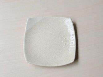 シンプル四角皿の画像