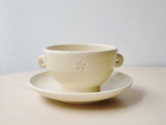 スープカップ&ソーサーの画像