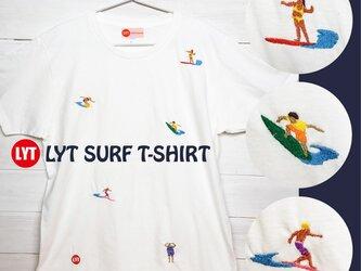 SURF 5 刺繍 クルーネック Tシャツの画像
