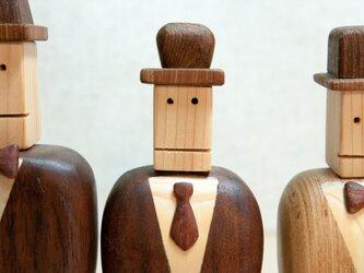 木工インテリア♡ネクタイをしたジェントルマン♪の画像