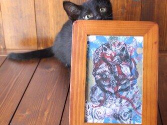 DEVIL-猫仏-ポストカード2枚セットの画像