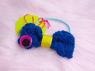 Mr Bow knit (pony tail)の画像