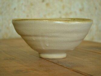 白マット釉碗の画像