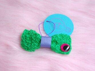 Mr Bow knit (brooch)の画像