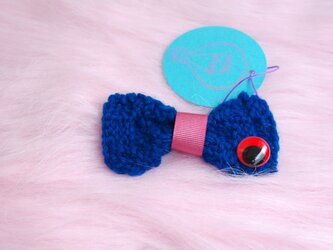 Mr Bow knit (brooch)の画像