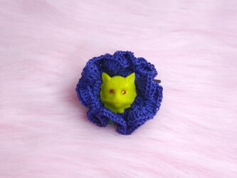 beam kitten (crochet)の画像