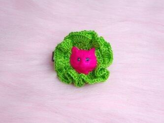 beam kitten (crochet)の画像