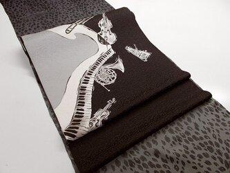 名古屋帯&袋帯(オーケストラ)の画像